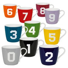 Color Number Mug