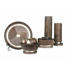 Decorative 5 Piece Accessory Group in Brown