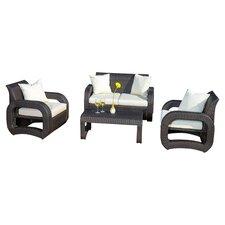 4-Piece Hampton Indoor/Outdoor Seating Group Set