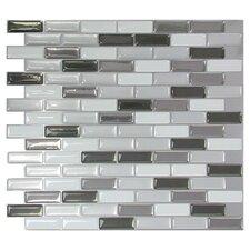 Mosaic Tile Sheet in Gray
