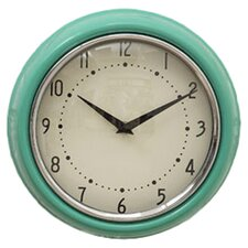 Urban Homestead Clock in Aqua
