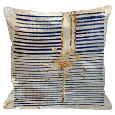 Love Force Field Throw Pillow in Navy