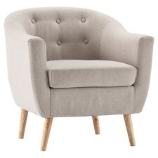 Fulham Arm Chair in Grey