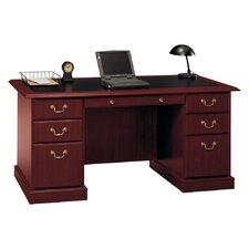 Saratoga Executive Desk in Harvest Cherry