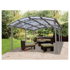 Arcadia Storage Shelter Cover Kit in Silver