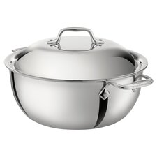 All-Clad 5.5 Qt. Dutch Oven in Stainless Steel