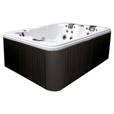 Fresco 3 Person Spa in Brown