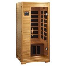 Studio 2 Person Carbon FAR Infrared Sauna in Natural