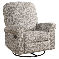 Ashewick Recliner in Gray & Beige