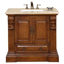 "Montgomery 38"" Vanity Set in Cherry"