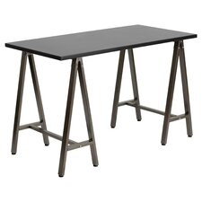 Amanola Writing Desk in Black