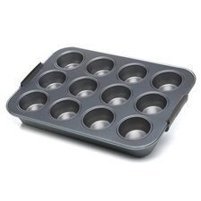 Calphalon 3 Qt. Cupcake Pan in Stainless Steel