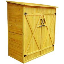 Hillsdale Storage Shed in Natural