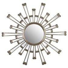Cameron Mirror in Antiqued Silver