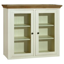 Marseille Display Cabinet in Oak & White