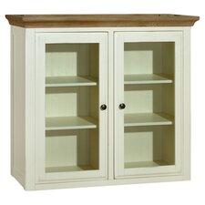 Marseille Display Cabinet in Oak & White