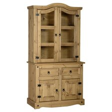 Corona Display Cabinet in Pine
