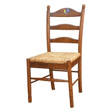 Maggie Rooster Side Chair in Chestnut
