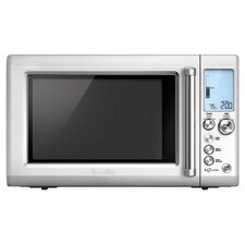 Quick Touch Countertop Microwave in Stainless Steel