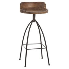Hinkley 34'' Barstool in Brown