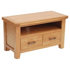 Hampshire TV Stand in Rustic Oak