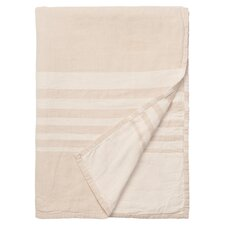 Bali Throw Blanket in Pure White
