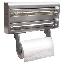 Master Class Foil & Paper Towel Roll Dispenser in Grey