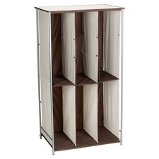 Household Boot Storage Unit in Brown