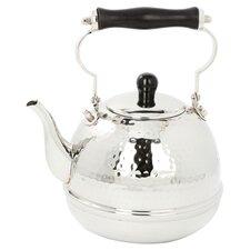 Decor 2 Qt. Tea Kettle in Stainless Steel