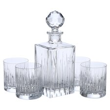 Crystal 5 Piece Soho Bar Set