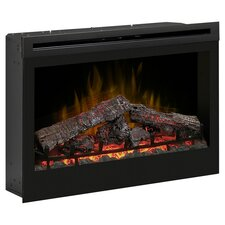 Electraflame Electric Fireplace Insert in Black