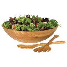 Bamboo Salad Bowl in Natural