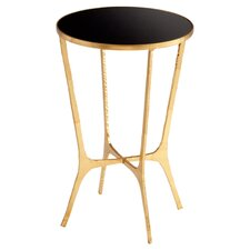 Floyd End Table in Gold