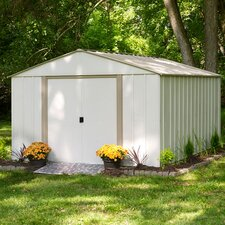 Oakbrook Storage Shed in Taupe