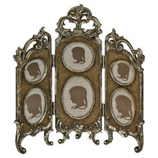 Vintage 6 Picture Photo Frame in Bronze