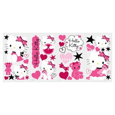 Hello Kitty Couture Small Wall Decal Set