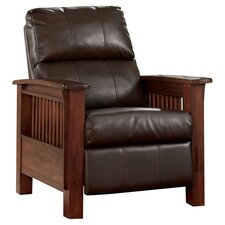 Caro Recliner in Rich Brown