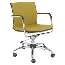 Baird Office Chair in Mustard Yellow