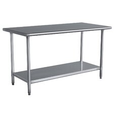 Cumberland Prep Table in Silver