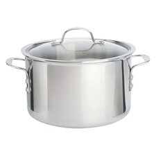 Calphalon 8 Qt. Stock Pot in Stainless Steel