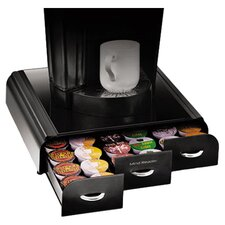 Anchor 36 K-Cup Coffee Organizer in Black