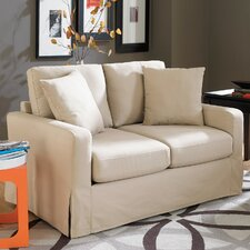 Lily Loveseat in Ivory