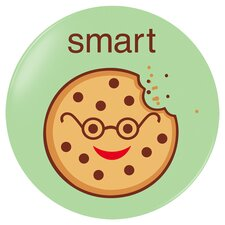 Smart Cookie Plate in Green