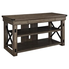 "Wildwood 48"" TV Stand in Rustic Gray"