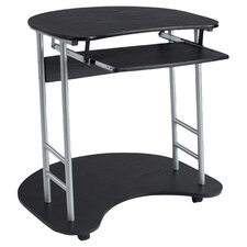 Office Cargo Computer Desk in Black