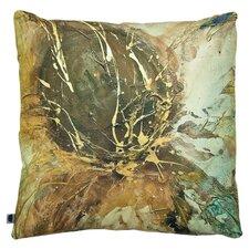 Autumn Lotus Cushion in Brown