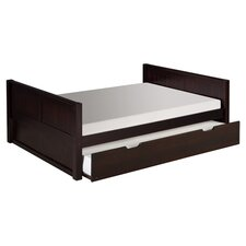Lorion Full Platform & Twin Trundle Bed in Cappuccino