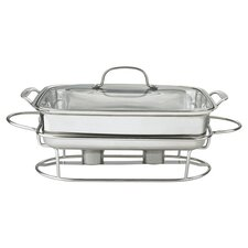 Classic Entertaining Buffet Server in Stainless Steel