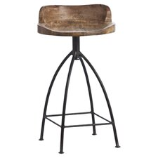 "Henson 24"" Counter Stool in Brown"