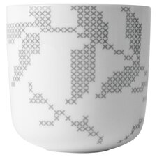 Leaves Thermo Cup in Gray